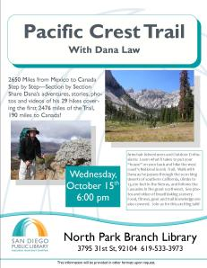 Pacific Crest Trail 10-15-14