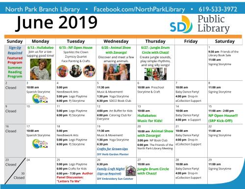 Apri - Jun 2019 Calendar 2